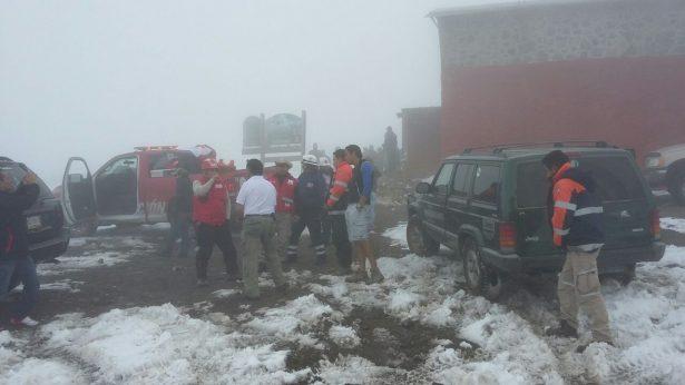 24 de duro rescate de alpinista estadounidense