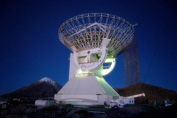 En 2018, listo el  cuarto anillo del  Gran Telescopio Milimétrico