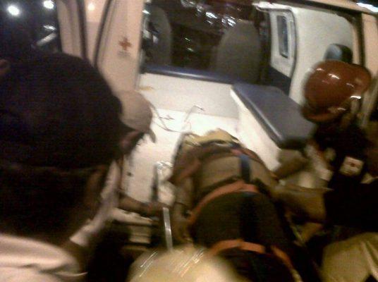 Mutilado por el tren, en la colonia Librado Rivera