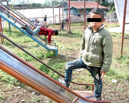 En Xocotla las familias tienen hasta 8 hijos