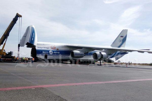 [Video] Aterriza en Puebla el tercer avión de carga más grande del mundo