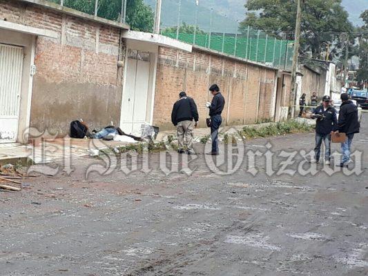 Asesinan a hermano de regidor de Río Blanco