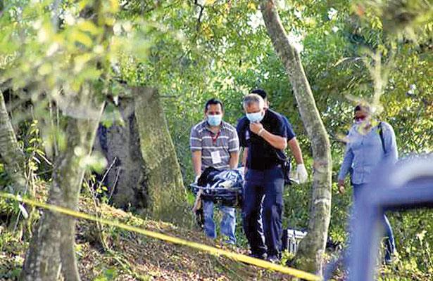 El cuerpo de la joven Magaly fue hallado en una construcción vacía.