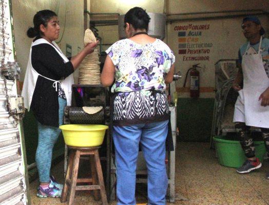 Tortilleros de la zona de Orizaba no prevén aumento