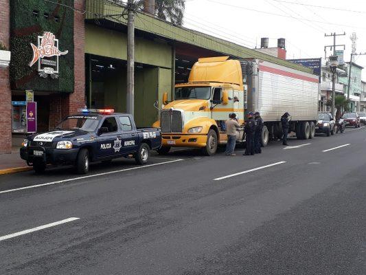 Movilización policiaca en Poniente 7