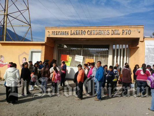 """Toman primaria """"Lázaro Cárdenas del Río"""""""