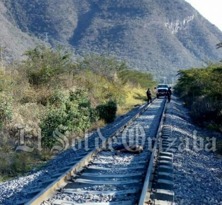 Hallan a hombre sin vida, sobre vías del ferrocarril