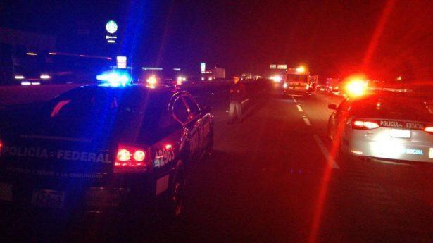 Persona termina desecha en la autopista México-Orizaba