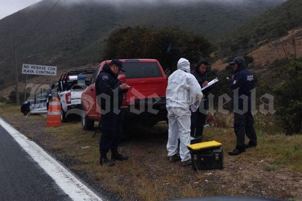 Hallan osamenta a un costado de la carretera Tehuacán-Orizaba
