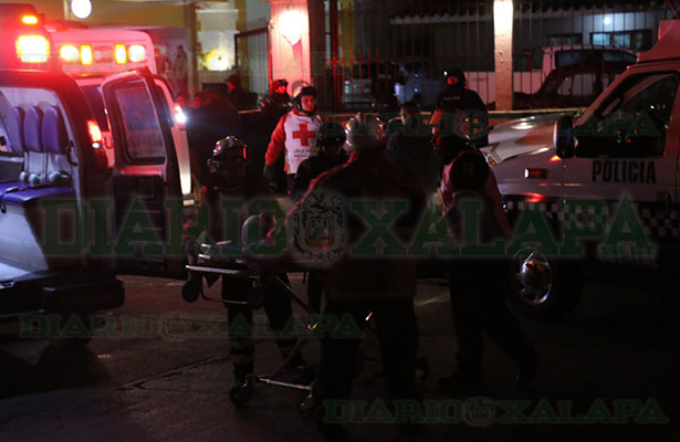 Balacera en el centro de Xalapa; hubo dos muertos y dos heridos