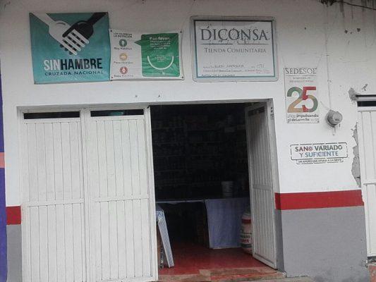 Roban 200 mil pesos de beneficiarios de Prospera, en tienda Diconsa