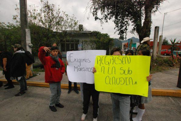 Sigue sin maestros la secundaria Netzahualcóyotl