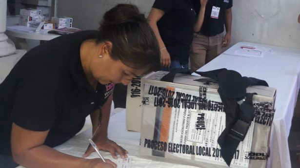 No quieren ciudadanos ser observadores electorales