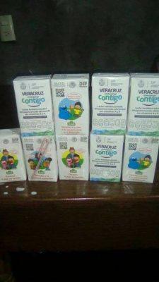 Vómito y diarrea presentan niños que bebieron leche del DIF
