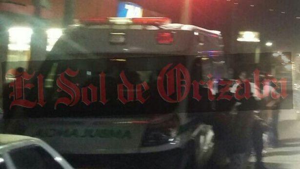 Chocan taxi y ambulancia