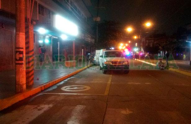 Asesinado a balazos en pleno centro de Coatza
