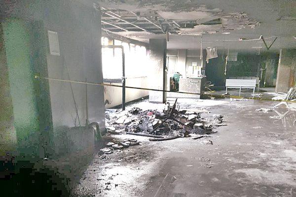 Causa temor incendio en hospital del IMSS