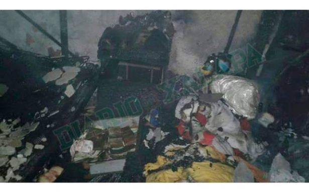 Muere anciana tras incendiarse su vivienda