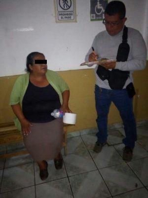 Capturan a mujer que participó en feminicidio