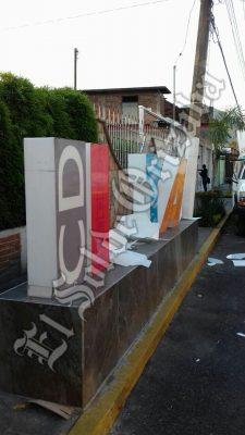 Destruyen letras del municipio de Ixtaczoquitlán; Ayuntamiento presentará denuncia penal