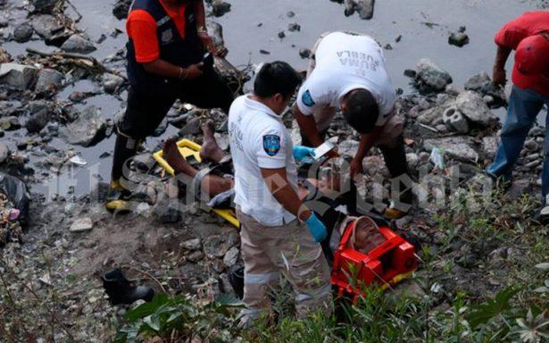 Tras lenta agonía, fallece hombre que se arrojó desde puente