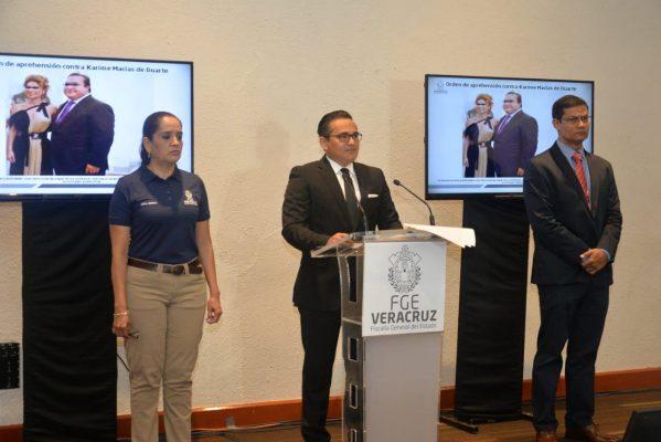 Juez ordena detener a esposa de Javier Duarte