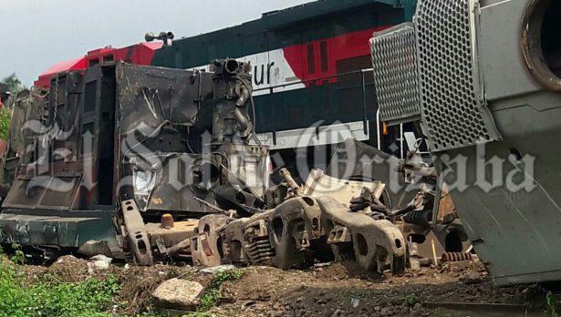 Una semana tardarían en ser retirados los vagones de la zona del accidente