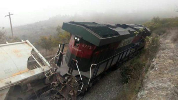 Otro descarrilamiento provocado por asalta trenes