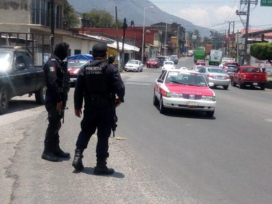 Mantiene SSP intensos operativos enla zona Orizaba-Mendoza