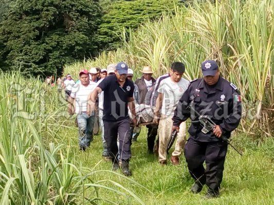 Rescatan muerto en Las Cazuela