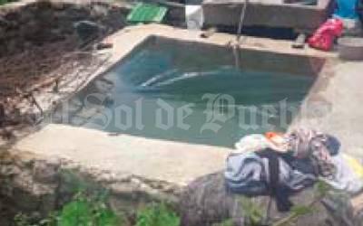 Muere ahogado niño de tres años al caer a depósito de agua