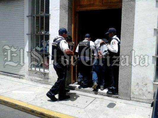 Presentan ante la Fiscalía a los cinco detenidos por balacera en Río Blanco