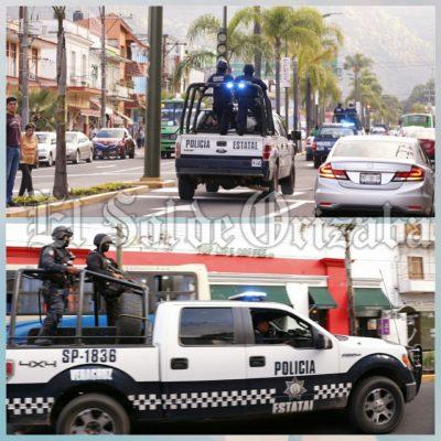 Intenso movimiento policiaco por robo de camionetas