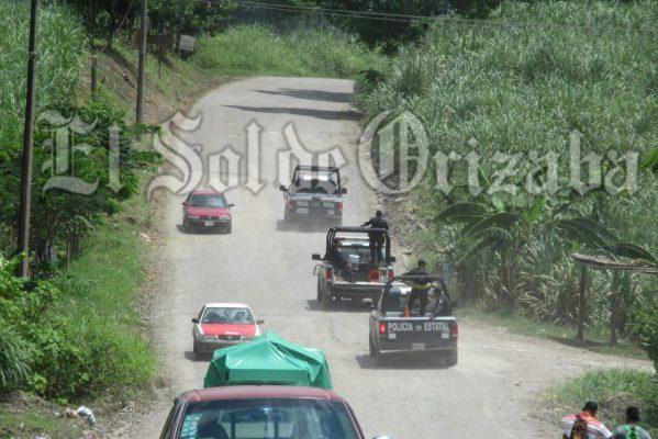 Fuerzas armadas blindan Tezonapa, tras hechos violentos