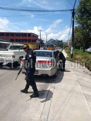 Policía redobla vigilancia en la zona