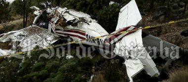 [VIDEO] Tres muertos dejo como saldo el avionazo en el Pico de Orizaba
