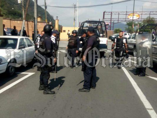 Denuncia Inspeccion Policía robo de metralleta