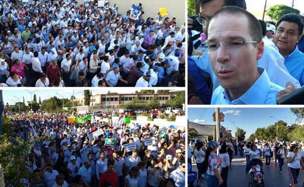 """Coahuila """"Marcha por la Dignidad"""" ante resultado de PREP"""