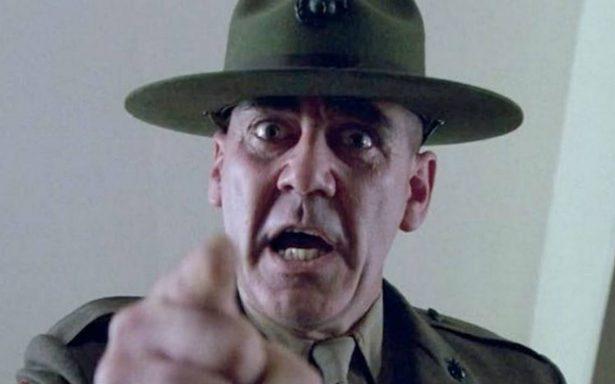"Muere R. Lee Ermey, el terrible sargento de ""Full Metal Jacket"""
