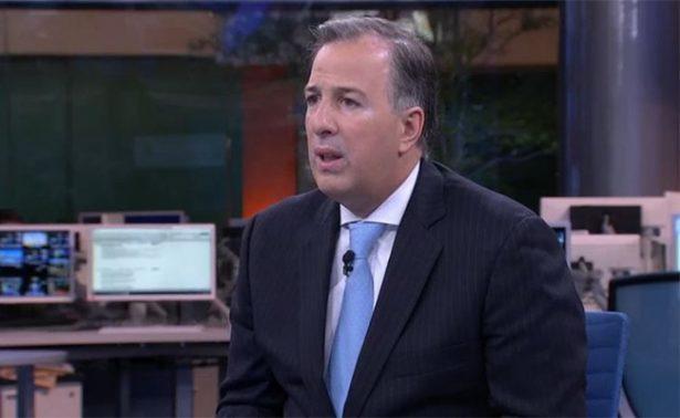 Estamos sujetos a sorpresas en la renegociación del TLCAN, admite Meade