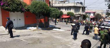 Balacera en Naucalpan deja 3 muertos y dos lesionados