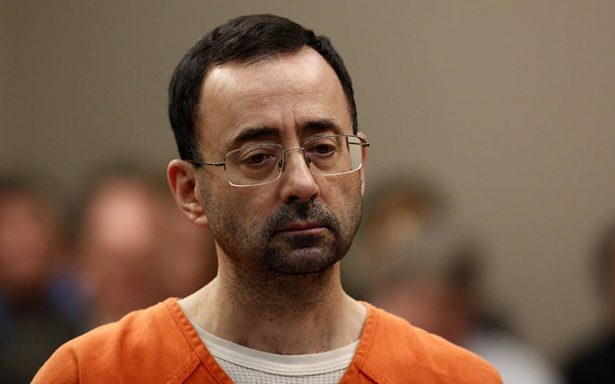 Exmédico olímpico Larry Nassar, recibe 60 años por abuso sexual
