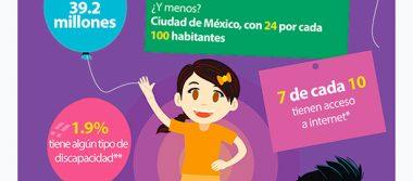 Casi el 50% de niños mexicanos entre 3 y 5 años no va a la escuela
