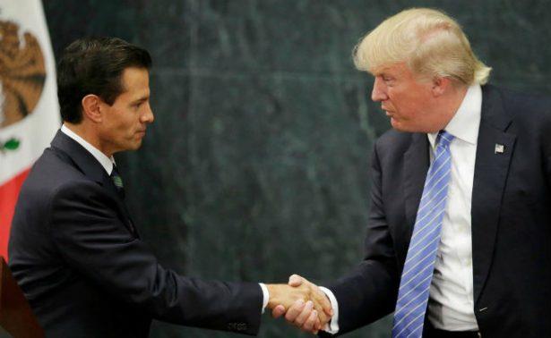 Así fue la primera conversación entre Peña Nieto y Donald Trump