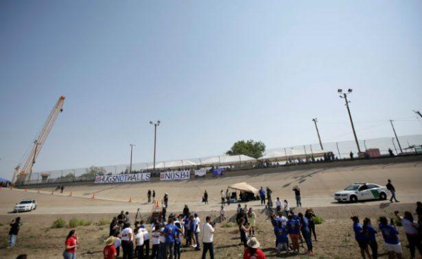EU no construirá muro en 209 km con México; prevén prototipo para septiembre