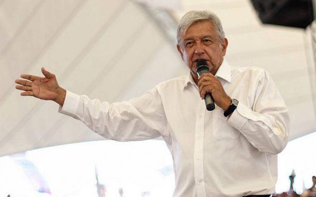 Por partido de México vs Corea, mitin de AMLO en Veracruz se queda sin gente