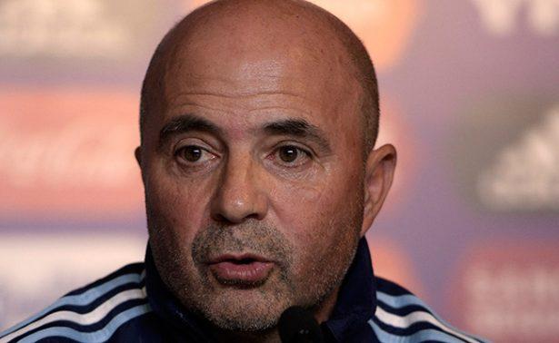 Jorge Sampaoli con equipo completo para enfrentar a Brasil