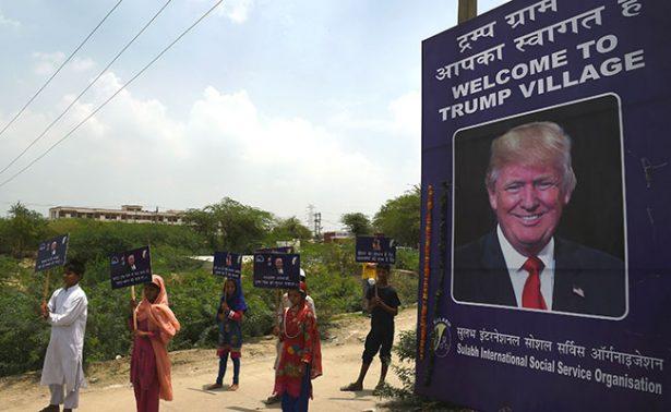 """¡Increíble! Pueblo de India se llamará """"Trump"""""""