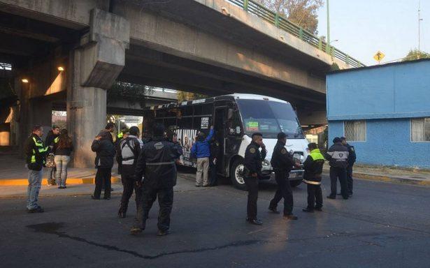 Fiscalía del Edomex investigará asesinato de pasajera en autobús