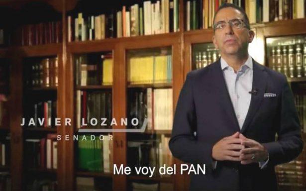 Javier Lozano renuncia al PAN por diferencias con Anaya, el 'joven dictador'